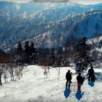 Youtube-2月の雪山動画のキャプチャー画像