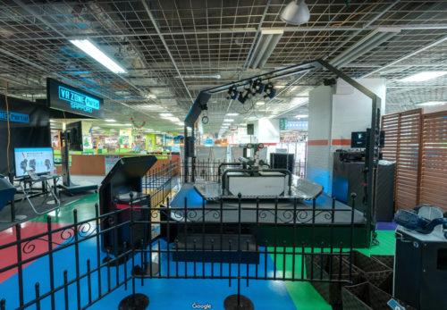 VR ZONE Portal namco札幌エスタ店の遊具前