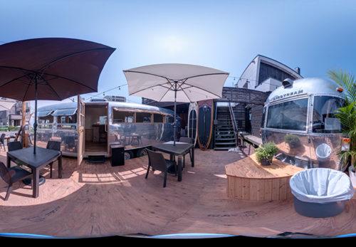 airstream cafe ZENIBAKO BASE